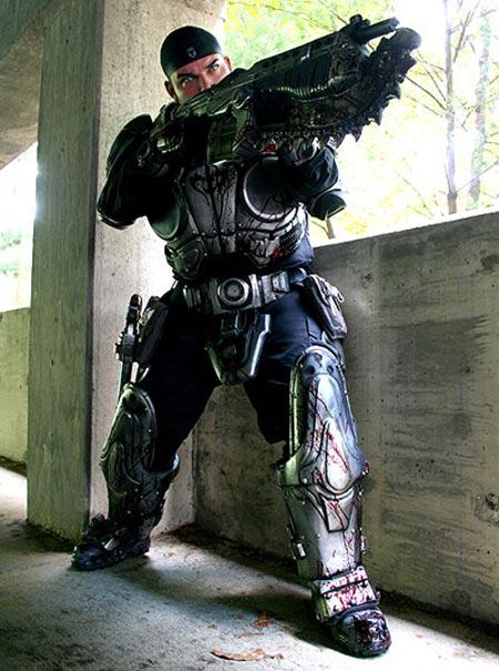 Comic-con i Cosplay Gears-of-war