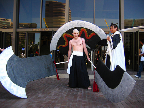 Comic-con i Cosplay What-the