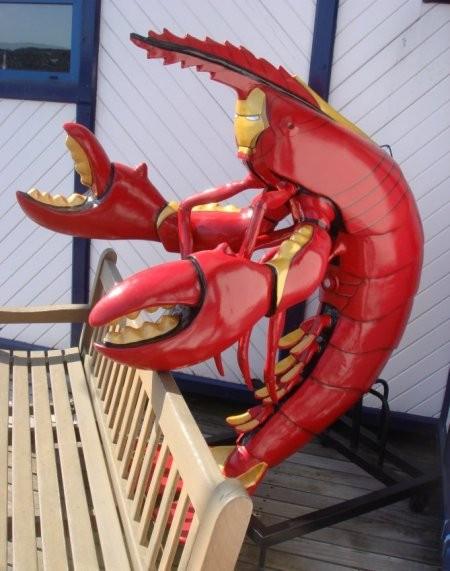Café zébré du 1er vendredi du mois à Nantes (prochain le 7 août  2015 ) - Page 2 Iron-lobster1