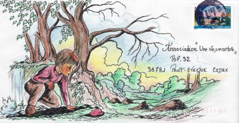 Art postal entre Familles IEFeuses