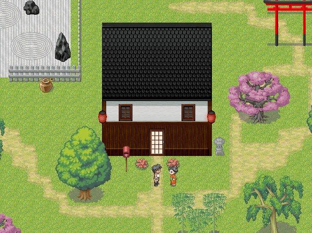 Bibliothèque des ressources VX Ace Tilesets Japanvillage