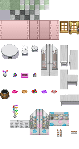 Tileset's Doceria Candyshop
