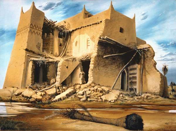 الفنان التشكيلي السعودي ابراهيم الزيكان 69648