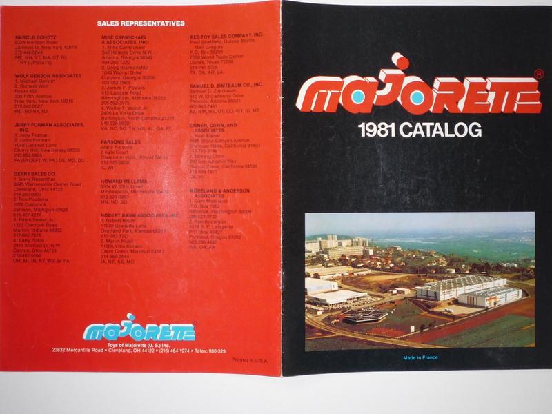 1981 DIN-A-4 Catalogue US-Version 10146912ys