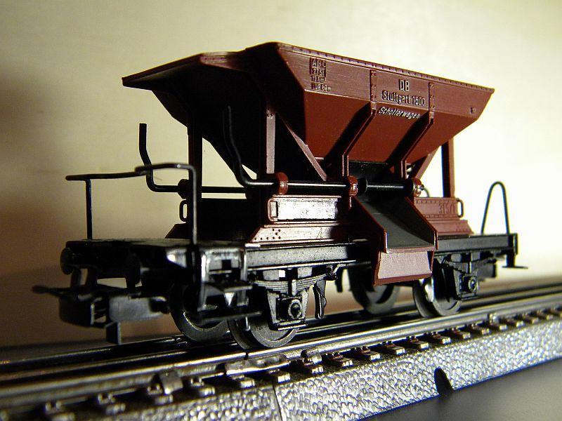 Schotterwagen der DB, Typ Talbot,  Märklin #4610 10218355we