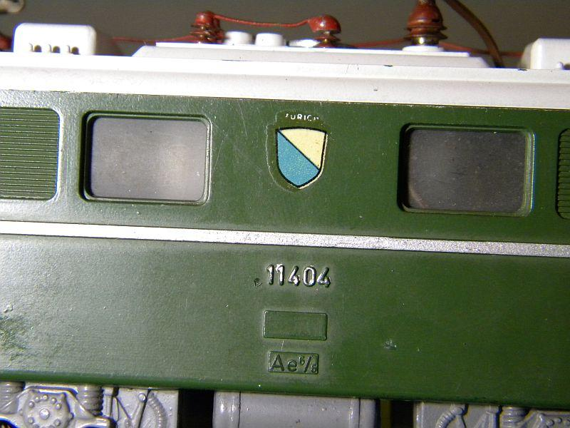 Kleinbahn Ae 6/6 11404 SBB 10599280yp