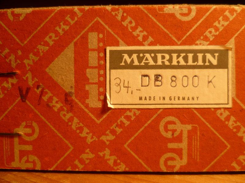 Zum Schulabschluss gegönnt: Märklin DB 800 K  10748546tw