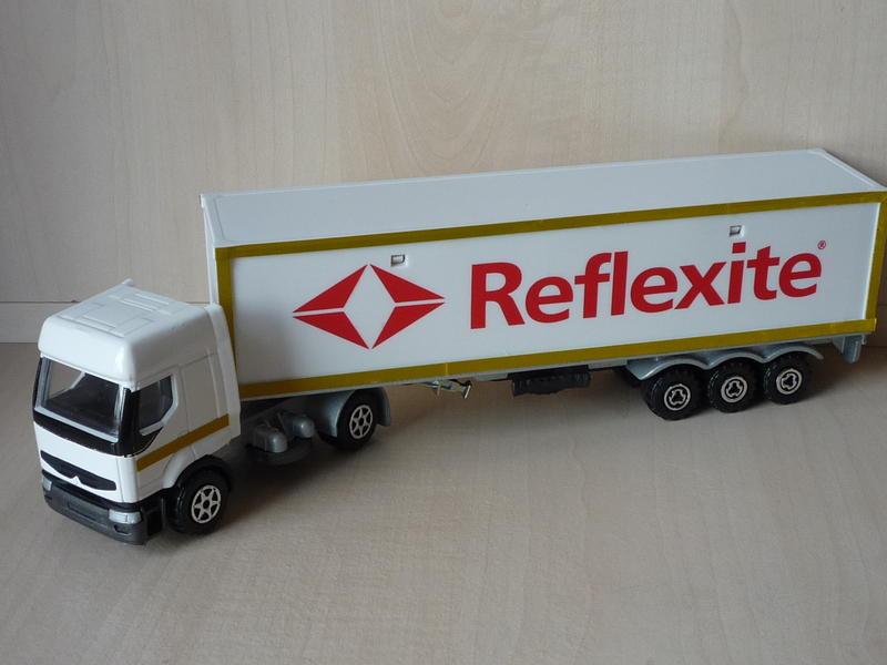 """N°3055 Renault Premium 1x 40"""" Container 10942250qw"""