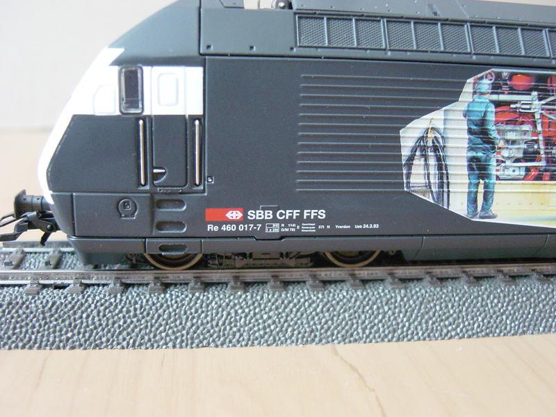 """E.Lok Serie 460 SBB """"Heizerlok"""" (Art.Nr. 3751) 11298316ju"""