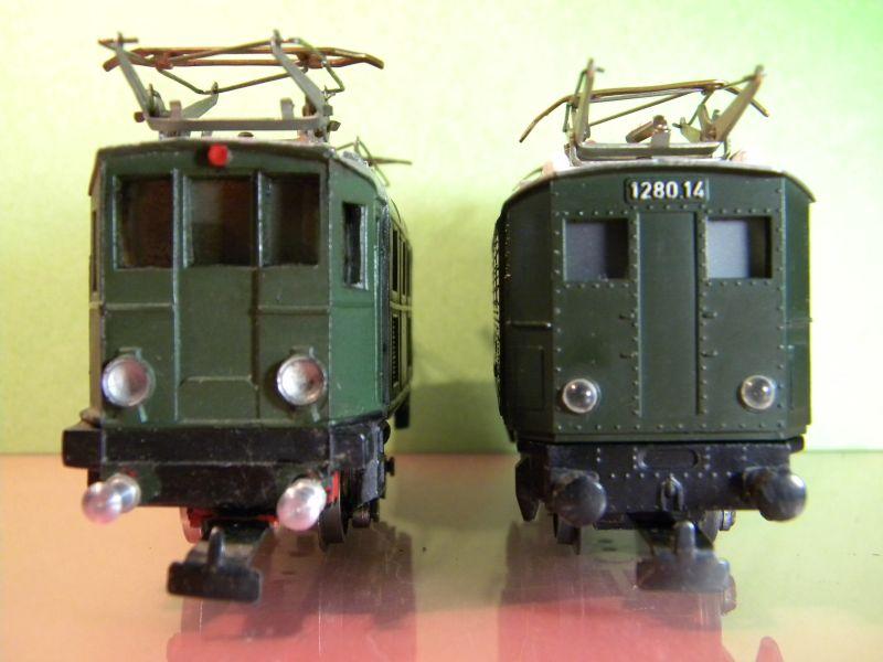 Liliput Lok No. 104 im Vergleich mit Kleinbahn Lok No. 1280 12370494af