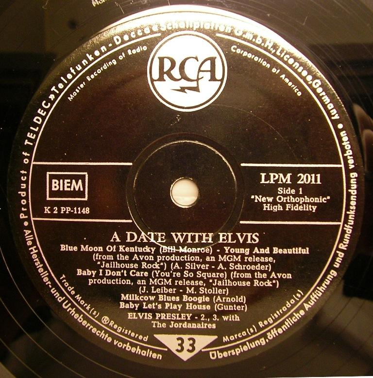 A DATE WITH ELVIS 12622727wf