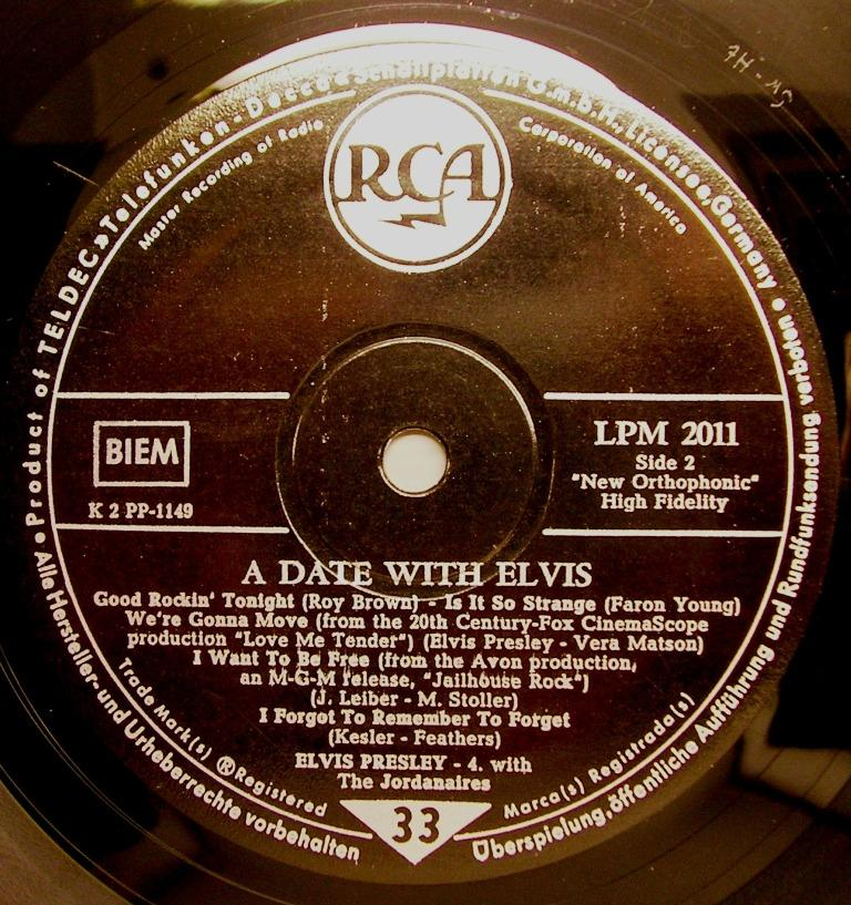 A DATE WITH ELVIS 12622729pj