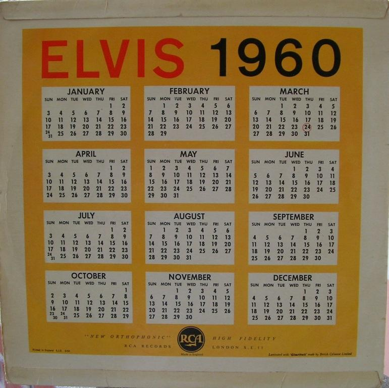 A DATE WITH ELVIS 12631798fw