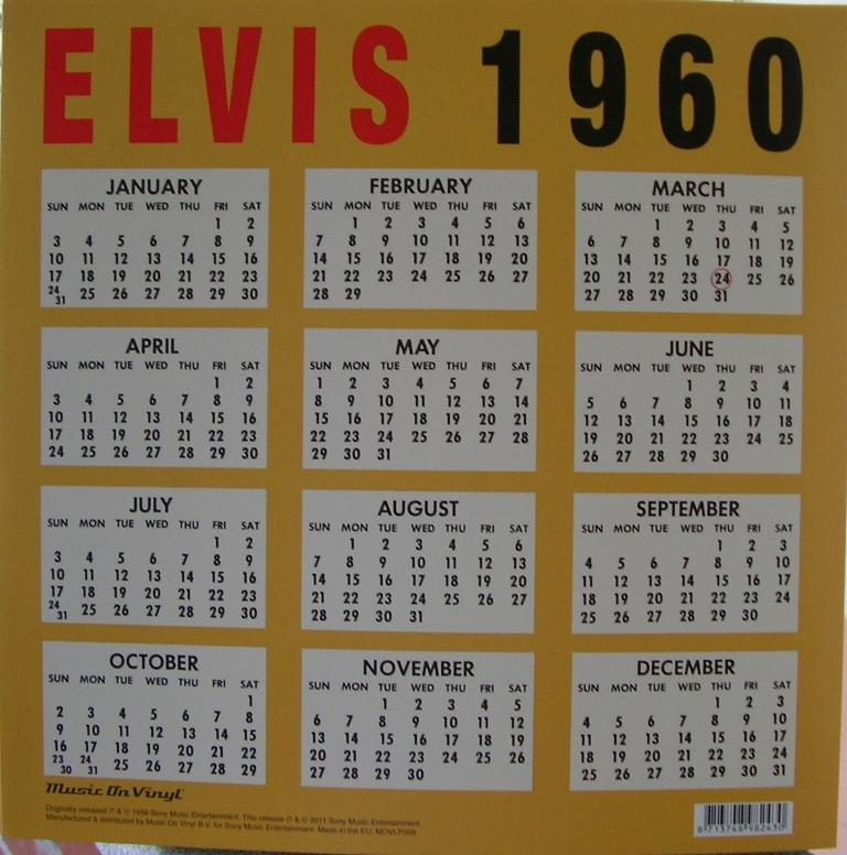 A DATE WITH ELVIS 12631895lf