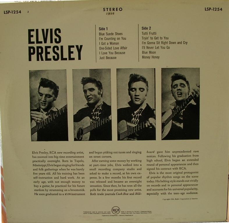 ELVIS PRESLEY 12663992xz