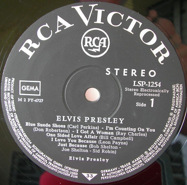 ELVIS PRESLEY 12663993cl