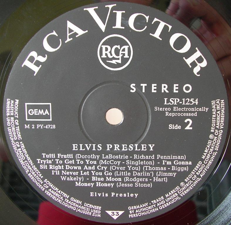 ELVIS PRESLEY 12663994yn