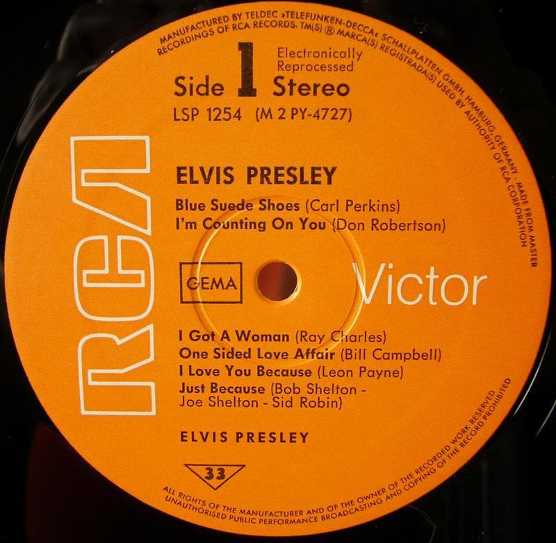 ELVIS PRESLEY 12664070zg
