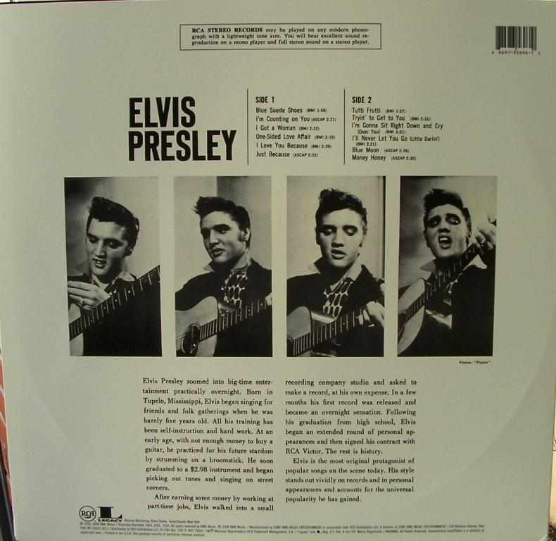 ELVIS PRESLEY 12664226fv