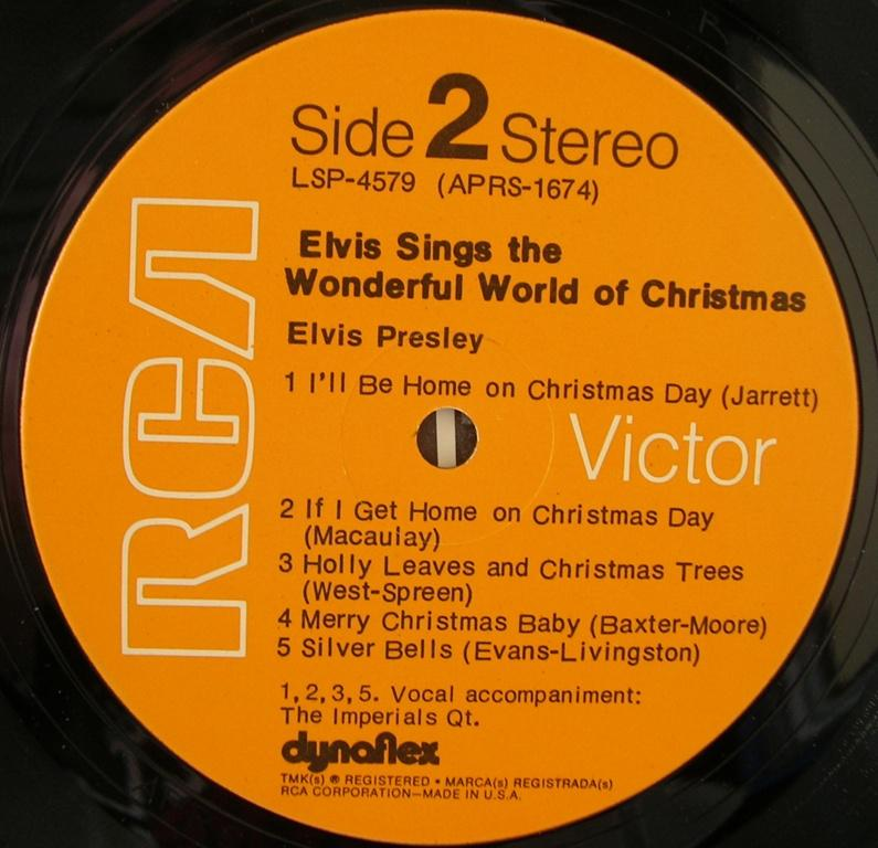 ELVIS SINGS THE WONDERFUL WORLD OF CHRISTMAS 12818344wt