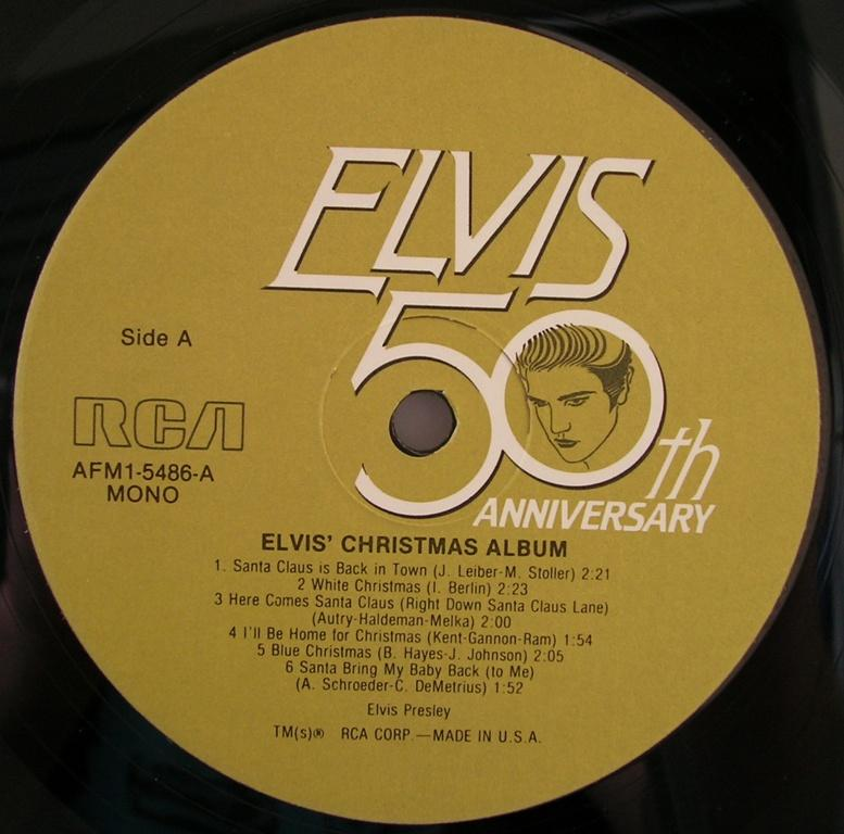 ELVIS' CHRISTMAS ALBUM 12818683ix