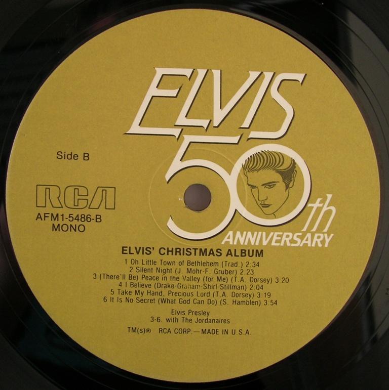 ELVIS' CHRISTMAS ALBUM 12818684by