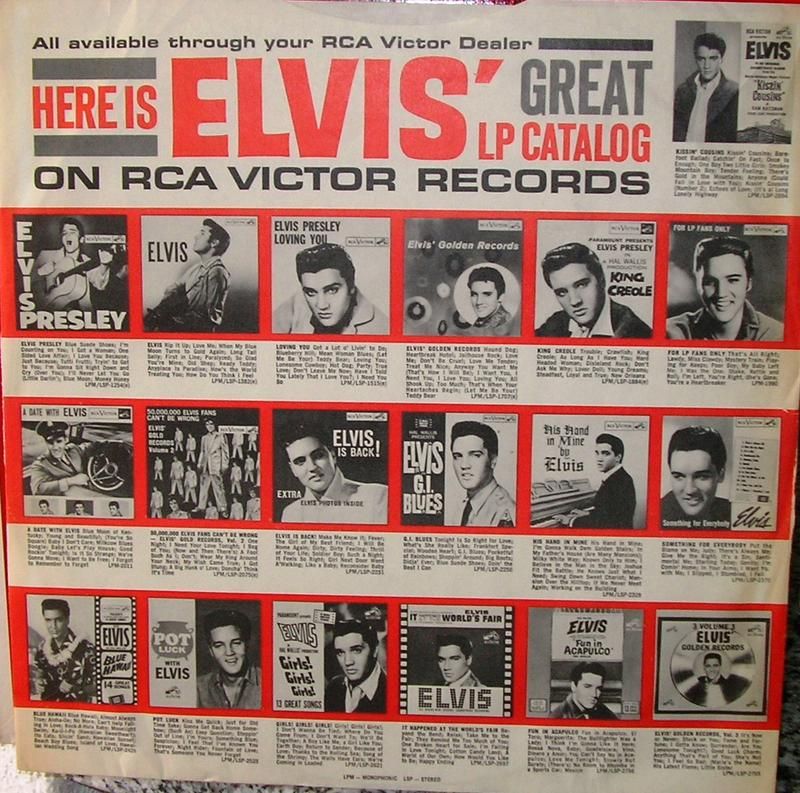 ELVIS' GOLD RECORDS  12918416ik