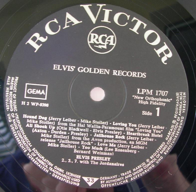ELVIS' GOLDEN RECORDS 12992901cz
