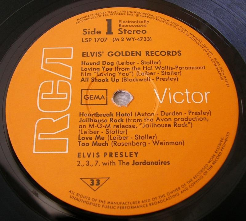 ELVIS' GOLDEN RECORDS 12993049im