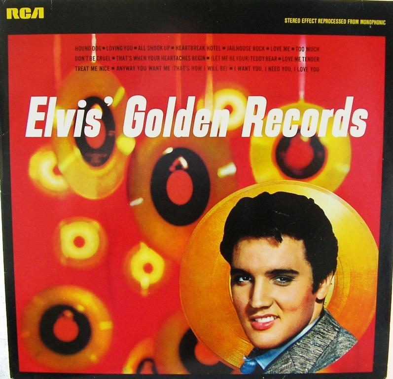 ELVIS' GOLDEN RECORDS 12993160kp