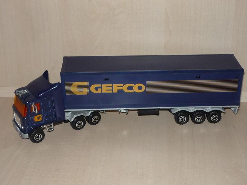 """N°3068 / 3055 GMC Astro95 1x40"""" Container 13037410ei"""