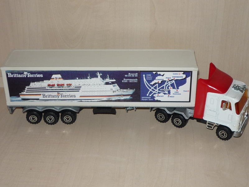 """N°3068 / 3055 GMC Astro95 1x40"""" Container 13037414qy"""