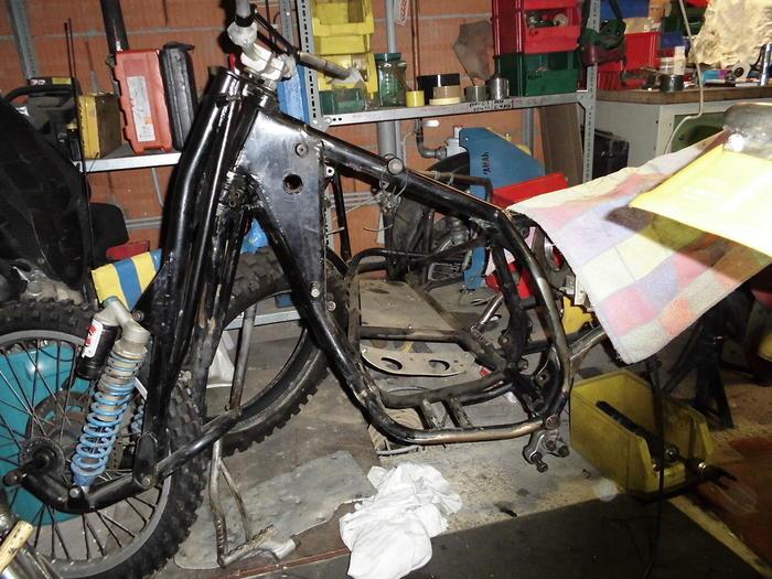 Enduro Gespann VMC mit Yamaha XT 500 Motor 13105909gn