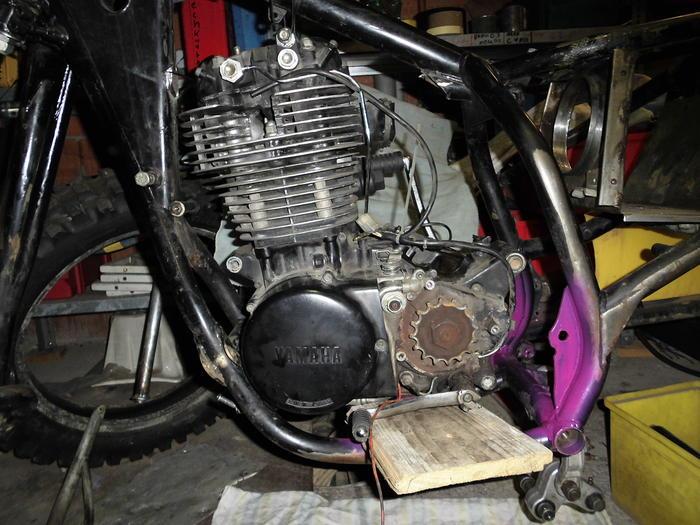 Enduro Gespann VMC mit Yamaha XT 500 Motor 13138490vr