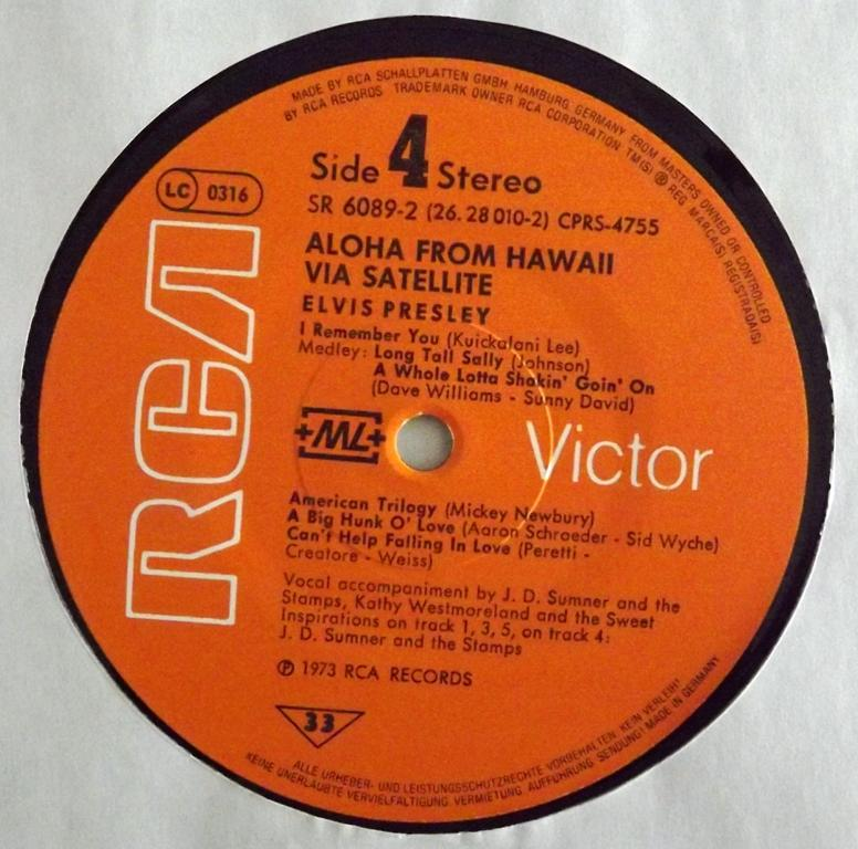 ALOHA FROM HAWAII VIA SATELLITE 13410344cz