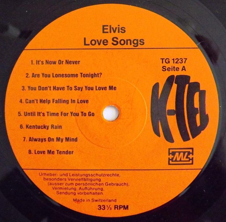 LOVE SONGS 13411749pn