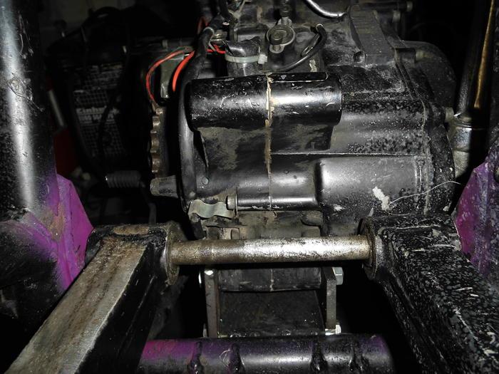 Enduro Gespann VMC mit Yamaha XT 500 Motor 13725288ds