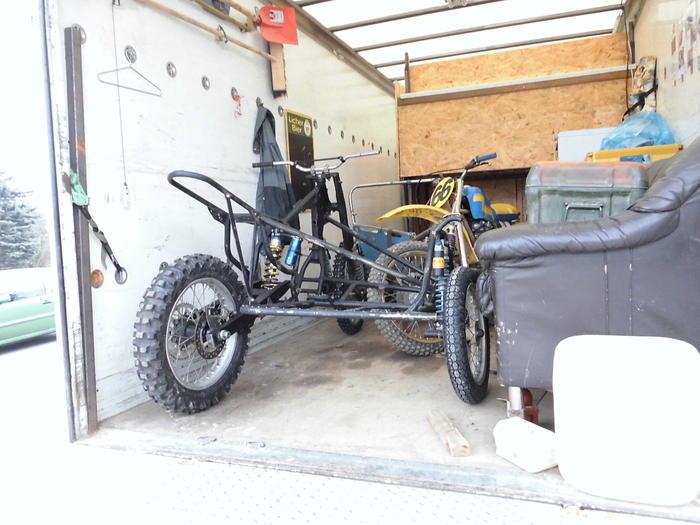 Enduro Gespann VMC mit Yamaha XT 500 Motor 14018938un