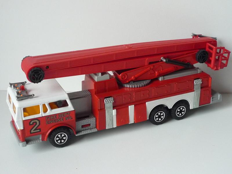 N°3091 1972`Ward La France Incendie Nacelle 14695958de