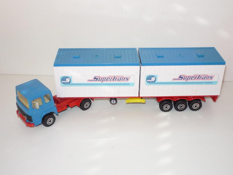 """N°3062 RENAULT SAVIEM PS30 2x20"""" DOUBLE CONTAINER  15227487rb"""