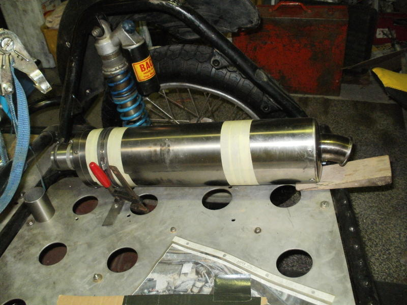 Enduro Gespann VMC mit Yamaha XT 500 Motor 16560377tz