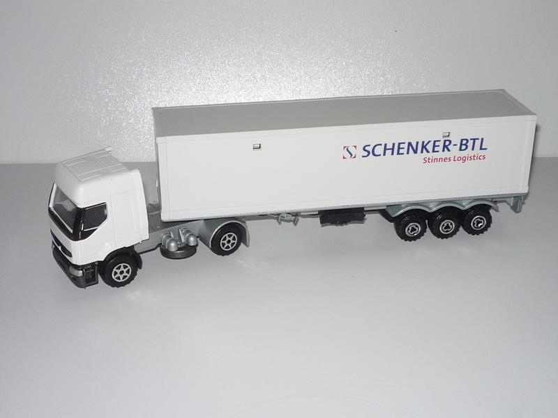 """N°3055 Renault Premium 1x 40"""" Container 17439539kb"""