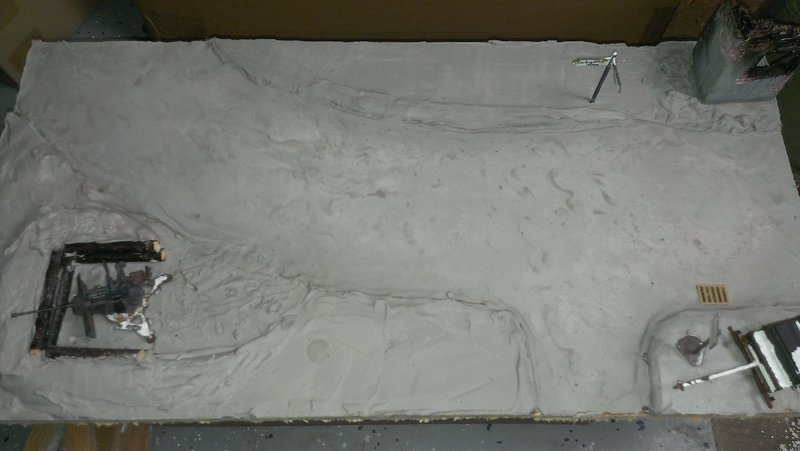 Winterdiorama Niederschlesien Februar 1945 19679701rf