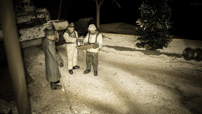 Winterdiorama Niederschlesien Februar 1945 19699111ts