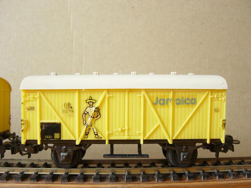 """Bananenwagen """"Jamaica"""" (MÄRKLIN) 19870744xj"""