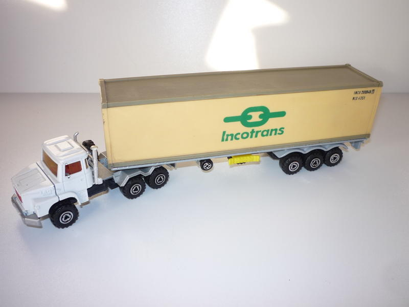 """N°3055 Scania 1x 40"""" Container  21254653js"""
