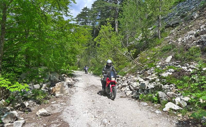 Pneu pour voyageur en gros trail 21271693cl