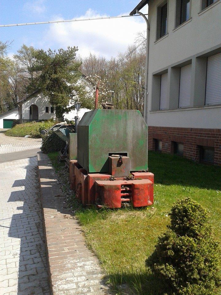 Denkmalzug vor dem Kalkwerk Hastenrath, nähe von Stolberg. 21697177pg