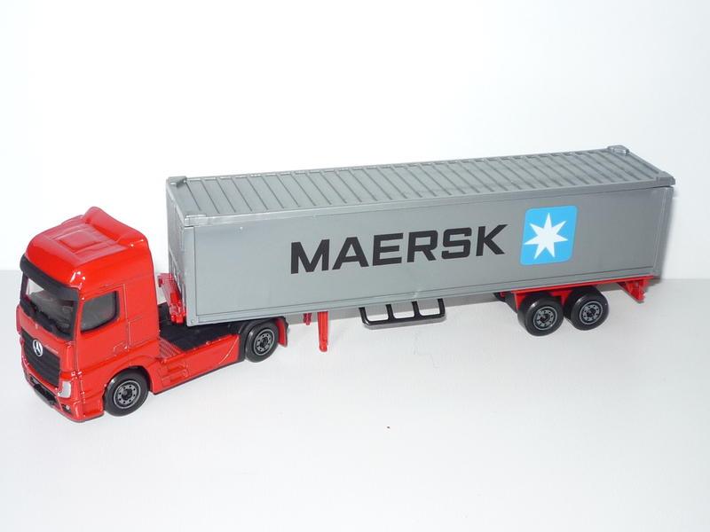 N°604E Mercedes Actros Container 22673862es