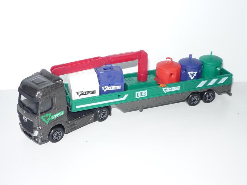 N°621C Mercedes Actros containers recyclage 22673866ek